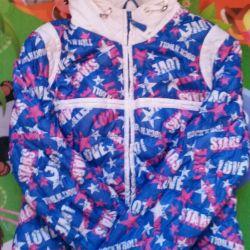 Jachetă ușoară pentru adolescent