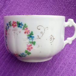 Чашка чайная (фарфор) Т-во М.С. Кузнецова 19 век