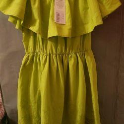 açık omuzlu elbise (yeni)