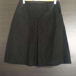 Μαύρο φούστα Mango