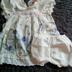 Dress with panties