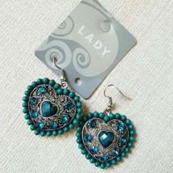 Earrings Lady Collection (costume jewelry)