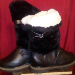 High fur boots new from 40 to 45r