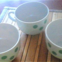 Чашки кофейные 3 шт Дулево