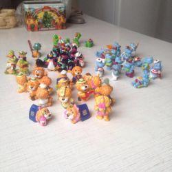 Игрушки из киндер, 90-х годов