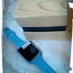 Smart watch smart watch blue new elite