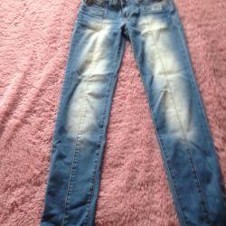 Женские джинсы б/у