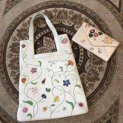 Unigue U hakiki deriden çanta tasarımı