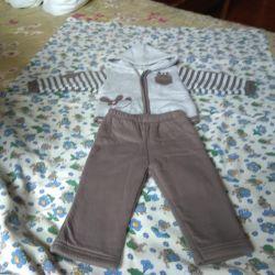 Set (pantolon ve sweatshirt)
