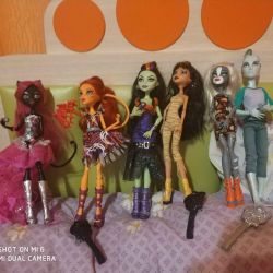 Dolls monster high original.