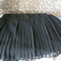 New skirt with black label