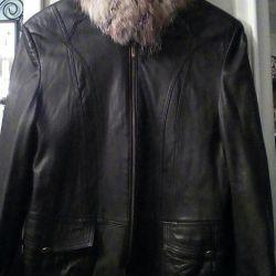 Deri ceket, rakun.