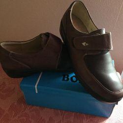Pantofi din piele (ortopedice)