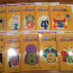 Books figures for kids