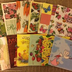 New wipes for decoupage