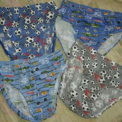 Swimsuits (shorts). 6-8 years. New ones.