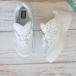 Ανδρικά παπούτσια Νέο ζυγό Νέο original δέρμα bélans