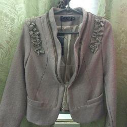 Draped jacket