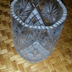 USSR.Crystal vase