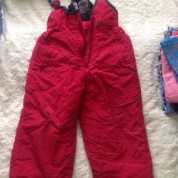 Утеплeнные брюки