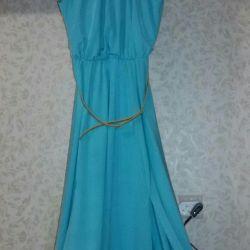 The dress is beautiful elegant