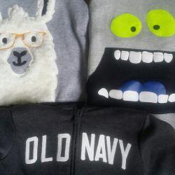 Αγόρι 4-5 ετών σακάκι φούτερ νέο Oshkosh