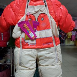 Overalls for a girl warm