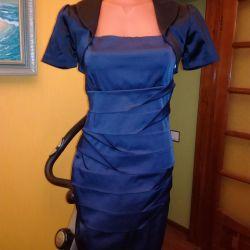 Φόρεμα + μπολερό 42-44, εταιρικό πάρτι