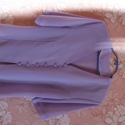 Blouse pale lilac p. 50-52