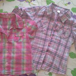 Παιδικά πουκάμισα 104-110cm