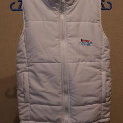 ✂️🔁 Kinder vest white (new)