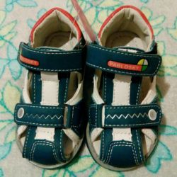 Sandals for boys. New