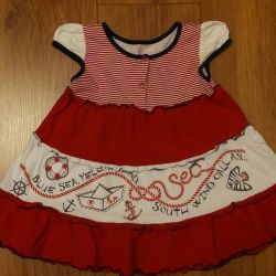Dresses on the girl to 2 years