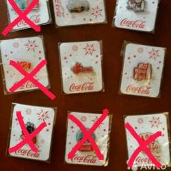 Coca Cola Badges