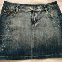 спідниці джинсові