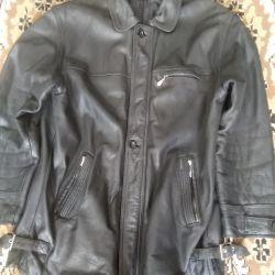 Leather jacket)