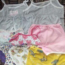 T-shirts and panties