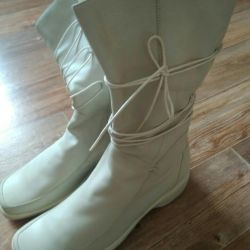 Women's boots 41 size natural