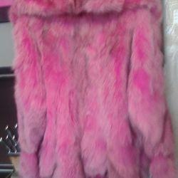 fox fur coat 46-50razm
