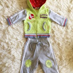 New suit for 3 months for a boy and girl