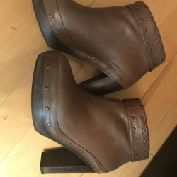 Women's leather shoes 37 size