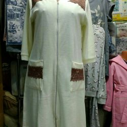 Dressing gown, size range 44-54