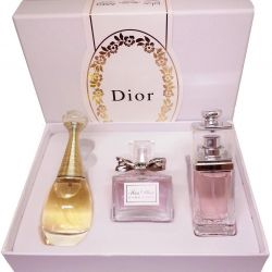 Gift Christian Dior 3 set on 30 ml.