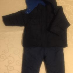 Jacket Old Navy and bib and jeans