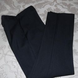 Trousers classical school r. 38 growth 158