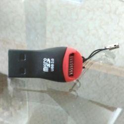 MicroSD USB adaptörü