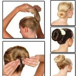 Hairpin for hair styling.