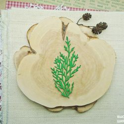 №74Р - Felling for scrapbooking.
