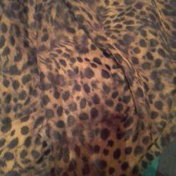 Υφάσματα Chiffon Leopard