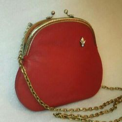 Small red bag (leather, NM)